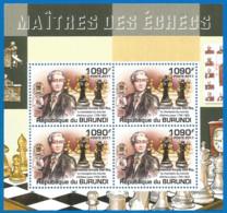 Burundi 2011 Year , Mint Block MNH (**)  CHESS - Chess