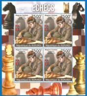 Burundi 2012 Year , Mint Block MNH (**)  CHESS - Chess