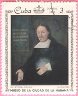 Cuba -  1972 - Culture - Art - Paintings From The Metropolitan Museum, Havana - Cristobal Colon - 3 C. - Used Stamps