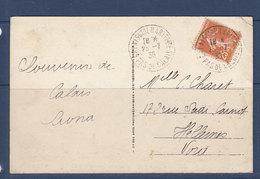 FRANCE CALAIS GARE MARITIMES - Postmark Collection (Covers)