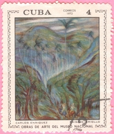 Cuba -  1972 - Culture - Art - Paintings From National Museum  - 4 C. - Used Stamps