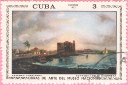 Cuba -  1972 - Culture - Art - Paintings From National Museum  - 3 C. - Used Stamps