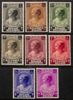 [651140]TB//**/Mnh-c:30e-BELGIQUE 1937 - N° 458/65, Princesse Joséphine Charlotte, Antituberculeux, Familles Royales, SC - Unused Stamps
