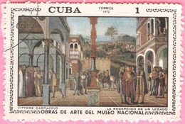 Cuba -  1972 - Culture - Art - Paintings From National Museum  - 2 C. - Used Stamps