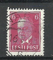 Estland Estonia 1936 O NARVA Michel 116 Gut Gestempelt - Estland