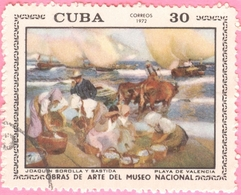 Cuba -  1972 - Culture - Art - Paintings From National Museum  - 30 C. - Used Stamps