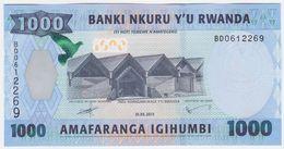Rwanda P 39 - 1000 1.000 Francs 1.5.2015 - UNC - Ruanda