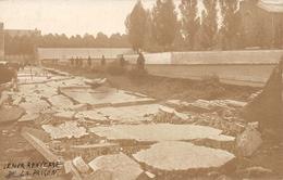 Le Mur Renverse De La Prison  Photo Postard Leuven Louvain - Leuven