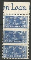 South Africa - 1942 Women's Services 3d Margin Strip MNH **   SG 101a  Sc 94 - South Africa (...-1961)