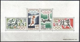 1964Chad120-123/B11964 Olympiad Tokio14,00 € - Summer 1964: Tokyo