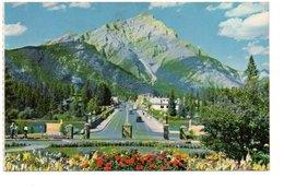 BANFF MAIN STREET AND CASCADE MOUNTAIN. - Banff