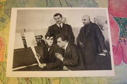 Mayakovsky, Meerkhold And Composer Dmitri Shostakovich - OLD  USSR PC - Musique Et Musiciens