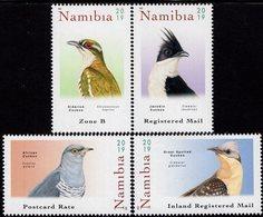 Namibia - 2019 - Cuckoos Of Namibia - Mint Stamp Set - Namibia (1990- ...)