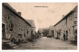 PARIGNE RUE DU CENTRE ANIMEE - France