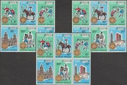 Rwanda 1968 COB 277/94. Jeux Olympiques De Mexico. La Série Des 18 Timbres Surchargés. Cote 70 € - Summer 1968: Mexico City