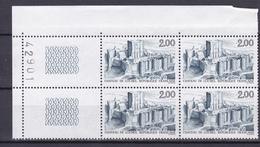 N° 2406 Série Tpuiristique: Château De Loches: Beau Bloc De 4  Timbres Neuf - France