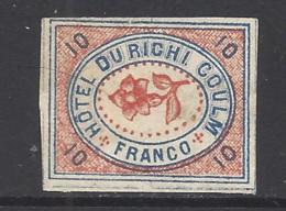 1878 : Hotelpost Nr. 31- Rigi Kaltbad - Ungebraucht * - Suisse