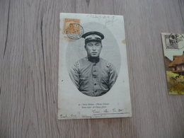 CPA Chine China Petits Métiers Chinois Officier Chinois   1 Old Stamps Circulated French Ipaypal Ok Out Of Europe - China
