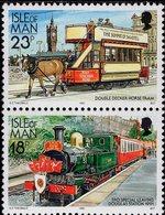 Isle Of Man - 1992 - Railways And Tramways - Mint Stamp Set - Isle Of Man