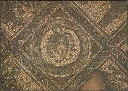 Mosaic, Roman Villa, Brading, Isle Of Wight, C.1970s - J Arthur Dixon Postcard - England