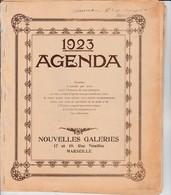 Nouvelles Galeries Marseille - Agenda 1923 - Calendriers