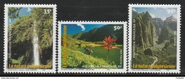 Polynésie Française  2001   Cat Yt     N° 634, 635, 636    N** MNH - Unused Stamps