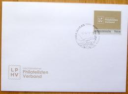 """Liechtenstein 2019: """"dieMarke.Li"""" Mit Neuem Logo Des LPHV (zur GV) Mitglieder-FDC For Members Only, Mit O SCHAAN 2.4.19. - FDC"""