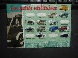 """Plaquette  """"Les Petits Utiltaires """"Pin's  Editions Atlas. - Badges"""