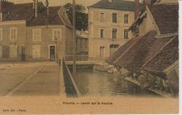 Provins  Lavoir Sur La Voulzie - Provins