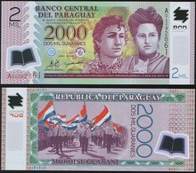 Paraguay P 228 A - 2000 2.000 Guaranies 2008 - UNC - Paraguay