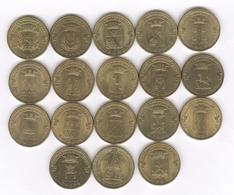 Lot De 18 Monnaies Commémoratives Russie / Russia 10 Roubles Différentes - Russland