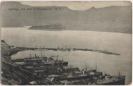 Lyttelton - The Port Of Christchurch N. Z. - New Zealand
