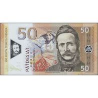 TWN - CZECHOSLOVAKIA - 50 Korun Česk. 2019 100th Ann. Czechoslovakia - Polymer - Prefix X01 UNC Private Issue - Banknotes