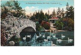 VICTORIA. IN PICTURESQUE BEACON HILL PARK. . - Victoria