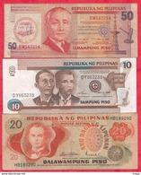 Philippines 5 Billets Dans L 'état  Lot N °1 - Philippines