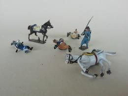Lot De Soldat De Plomb Anciens,5 ème Régiment Hussard, CBG Et Peut-être Lucotte - Army