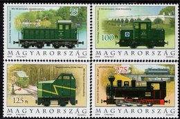 Hungary - 2009 - Locomotives - Mint Stamp Set - Hungary