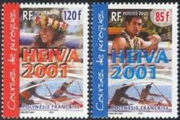 Polynésie Française  2001  Cat Yt     N° 645, 646   N** MNH - Unused Stamps