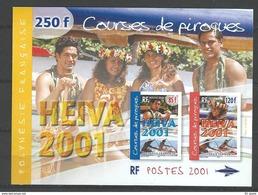 Polynésie Française  2001  Cat Yt   Bloc   N° 27  N** MNH - Unused Stamps