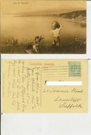 Taormina (Messina): Etna. Cartolina Fp Vg All' Estero 1900 (?). Animata, Mestieri... - Messina