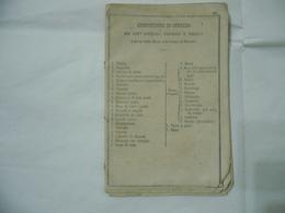 1862 COMPOSIZIONE DI CORREDO DEI SOTT.UFFICIALI CAPORALI  FIRMATO GARIBALDINO.? - Documenti