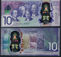 Canada P112 10 Dollars 2017 Commemorative Unc. - Canada
