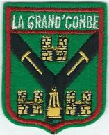Gard : La Grand Combe, Ecusson (Tissu) - La Grand-Combe