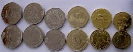 TANZANIA SERIE 6 MONETE 200-100-50-20-10-5 SHILLINGS FDC UNC - Tanzanía