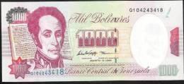 VENEZUELA P76d   1000 BOLIVARES   6 August 1998    UNC. - Venezuela
