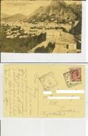 Taormina (Messina): Panorama Con Veduta Di Castel Mola E Madonna Della Rocca. Cartolina Fp Vg 1910 (Hotel Timeo) - Messina