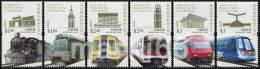 Hong Kong - 2010 - Centenary Of Railway Service Of HK - Mint Stamp Set - Neufs
