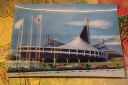 Tokyo National Stadium Olympics 1960s Stereo Japan  / Stade. Old Postcard - Stadi