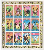 SOCCER World Cup, 1974 Korea,  HISTROY 1934-1978,KOREA SHEET - Copa Mundial
