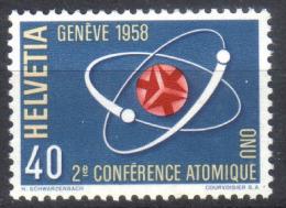 Zu 338 / Mi 662 / YT 611 Conférence Atomique ** / MNH Voir Description - Suisse